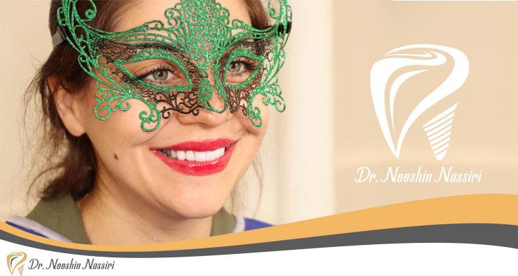 نمونه کار لمینیت دندان دکتر نوشین نصیری