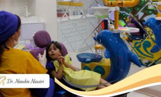 بررسی علل ترس کودکان از دندانپزشکی